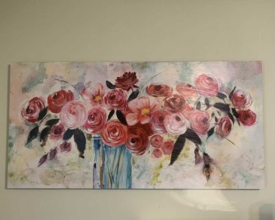 24 x 48 Floral Picture