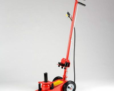 22 Ton Air Hydraulic Floor Jack Hd Truck Power Lift Auto Truck Bus Commercial