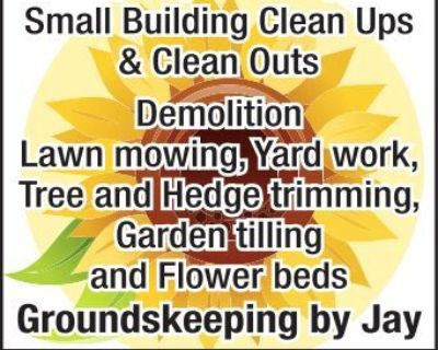 Spring Clean Up Small Building...