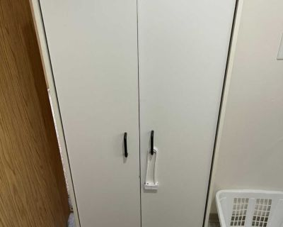 White pantry cupboard $20
