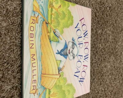 Row, Row, Row Your Boat - Children s Hard Cover Book