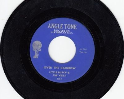 LITTLE BUTCH AND THE VELLS ~ Over The Rainbow*Mint-45 !
