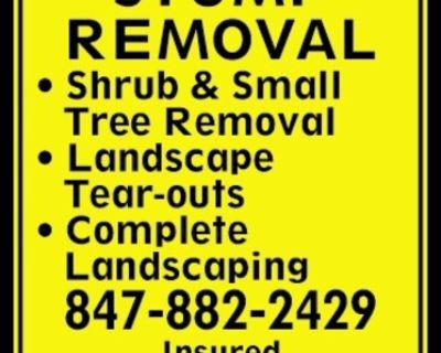 STUMP REMOVAL - Shrub & Small ...