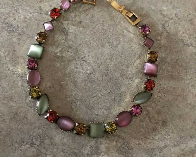 Lia Sophia Rainbow Sherbert Bracelet 7 1/4