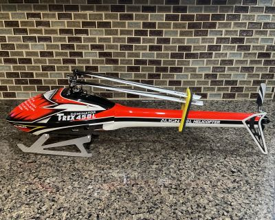 Align T-REX 450L Dominator, Speed Fuselage, Spares