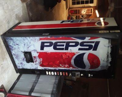 Pepsi machine for sale
