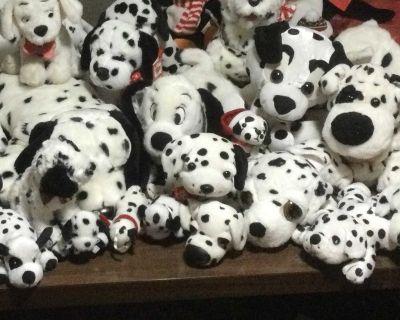 Dalmatian stuffed toys