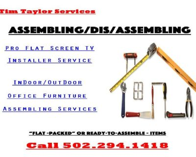 House and office furniture assemble services