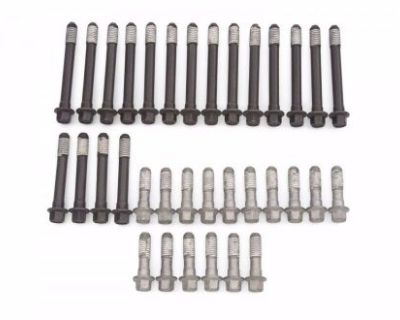 Sbc Small Block Chevy Cylinder Head Bolts 2 Sets Hex 6 Point 283 327 350 383 400