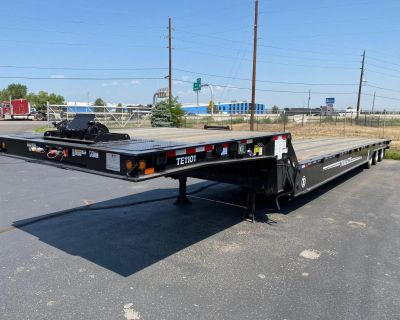 2020 TRAIL EZE TE1101 55 TON SLIDE AXLE, 6 FUNCTION REMOTE, 20,00 Traveling Axle Trailers
