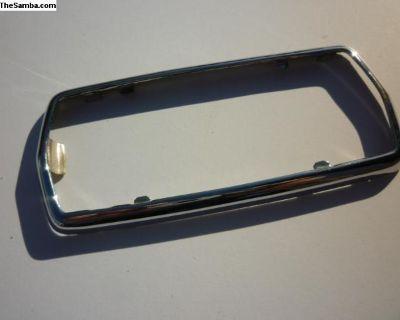Chrome trim for 56-57 Ghia dome light