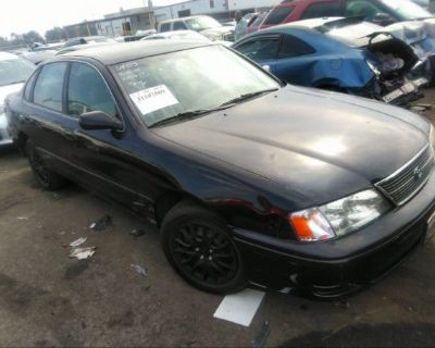 Salvage Black 1999 Toyota Avalon