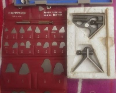 FS Mitutoyo machinist tools Price drop $115