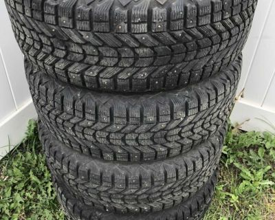 4 Winter tires whith rims