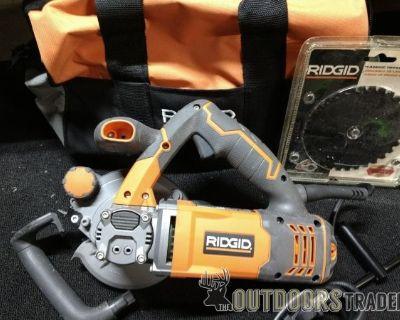 FS/FT >RIDGID Fuego TwinBlade Saw Model # R3250 10 Amp, 5 Dual Blade, CHEAP