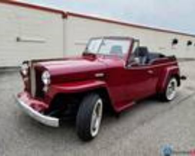 1949 Willys Jeepster Convertible 318 V8