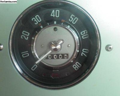 58-60 Beetle Speedometer- Restored by OES