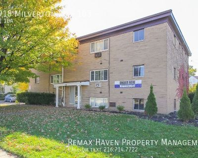 14918 Milverton Rd #103, Cleveland - 1 bed 1 bath apartment!