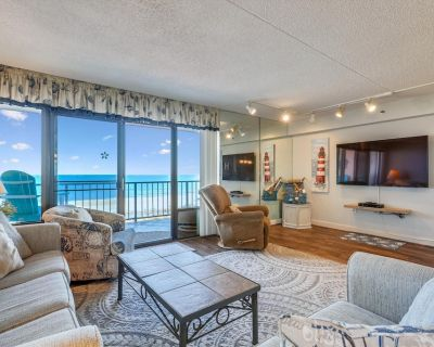 FREE DAILY ACTIVITIES!!! LINENS INCLUDED*! Oceanfront end unit with beautiful view of the ocean. Nicely furnished thru out with a king size bed in the master bedroom - North Ocean City