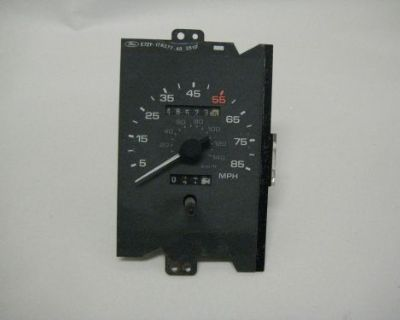 87 88 89 Ford Mustang Gt Lx 85 Mph Speedometer Assembly 48k Miles 1987 1988 1989