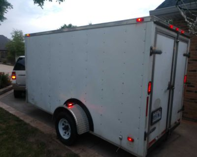 2016 Enclosed Trailer 6x14. Title in hand