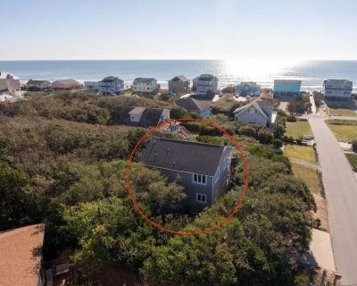 Dancing Barefoot- Cozy Beach Getaway- 4th Row House with Ocean View - Emerald Isle