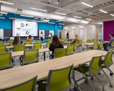 Event Space for 40 at Flywheel Coworking at the Cabarrus Center