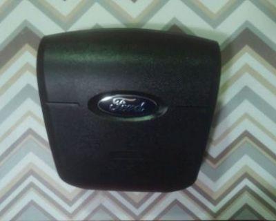 07-10 Ford Edge Air Bag Front Driver Wheel Black
