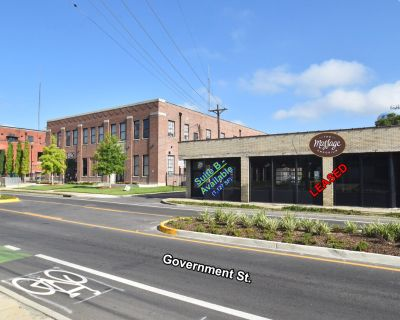 ELECTRIC DEPOT: 1,127 SF Suite with Frontage on Government St