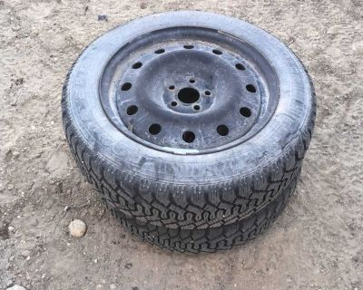 205/55/16 Goodyear Nordic Rims Tires