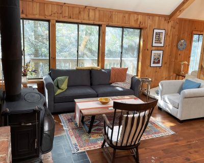 Brookside Hideaway: Charming, cozy, 4 Bedroom home in wooded vacation community - Sandisfield