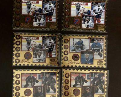 1997-98 Pacific Revolution Return to Sender Die Cut Hockey Cards Lot