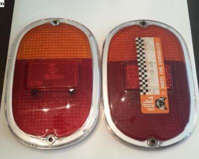NOS Euro Spec Bay Split Tail Light Taillight Lense
