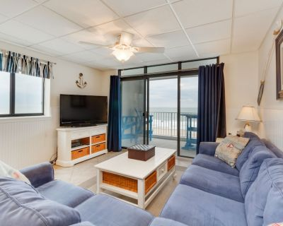 Waterfront condo w/ a furnished balcony, tranquil view, & full kitchen - Midtown Ocean City