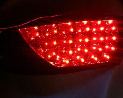 00-06 Ford Focus 3dr 5dr Hatchback Smoke Led Tail Lights Brake Lamp