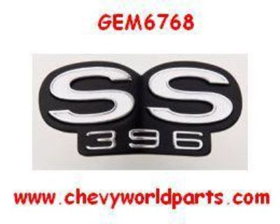 1969 Camaro Ss396 Grill Emblem For Rs Grill 69
