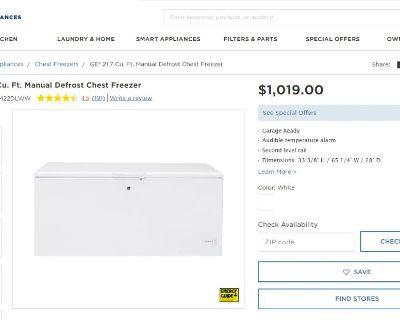 Freezer Semi-New For Sale