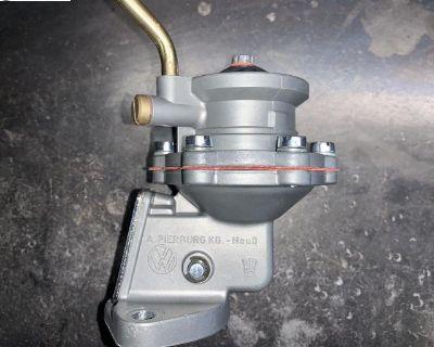 Rebuilt/restored Bastard engine Pierburg fuel pump