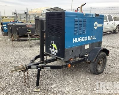 2014 (unverified) Miller Big Blue 400P Mobile Engine Driven Welder