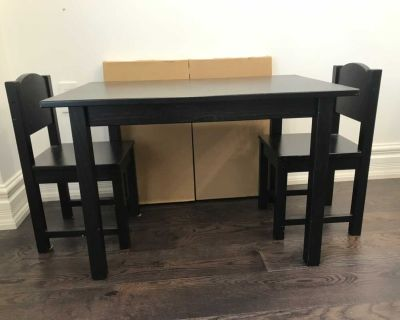 IKEA SANDVIK CHILDREN S TABLE AND CHAIRS