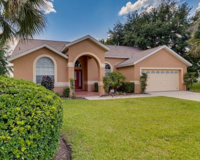 5-STAR VILLA! Close to Disney! Private Pool/Game Room/2 King Masters! VERY CLEAN - Greater Groves