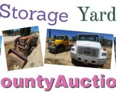 Anza Rusty Gold Storage Yard Auction