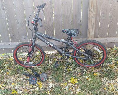 Kids bike with training wheels