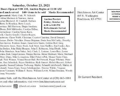 Hutchinson Art Center Consignment Auction