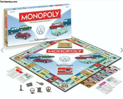 collectible VW Monopoly new in packaging