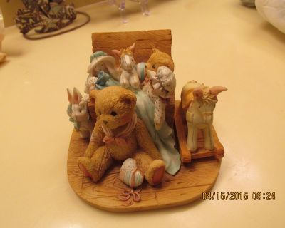 """""""Cherished Teddies"""" Collectible Numbered Piece - """"Old Friends Are The Best Friends"""""""