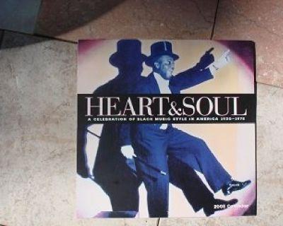 HEART & SOUL ~ 12 Month Music Calender*Mint- !