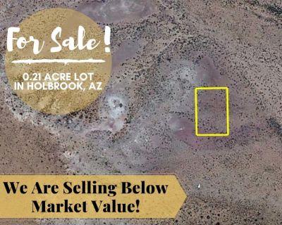 0.21 Acres for Sale in Holbrook, AZ