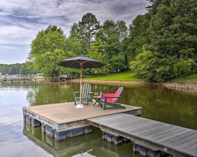 NEW! Lakefront Family Home w/ Dock & Ramp Access! - Mayhew