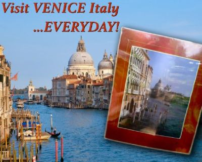 Visit VENICE Italy...EVERYDAY!  Venice Italy Travel Poster